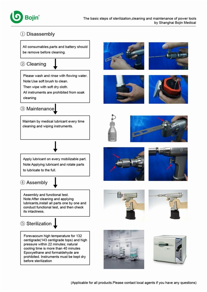 BJ4102 Bone drill(System 4000)
