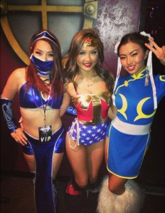Asian Escort Girls in Halloween