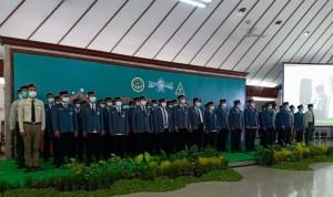 Pengurus PC IPNU Kabupaten Bojonegoro saat Pelantikan di Pendopo Malowopati Pemkab Bojonegoro