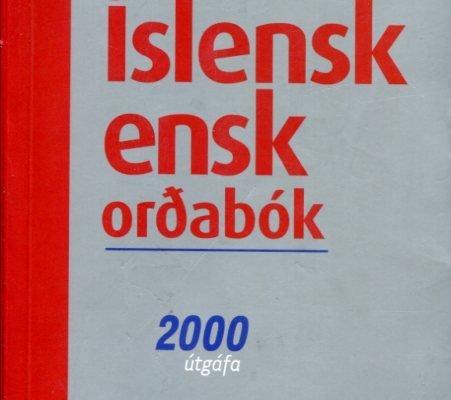 Íslensk - ensk _ Ensk - íslensk orðabók