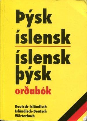 Þýsk-íslensk / íslensk-þýsk (gul)