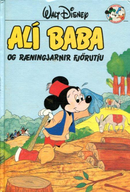 Alí Baba og ræningjarnir-fjörutíu. Disney ævintýri