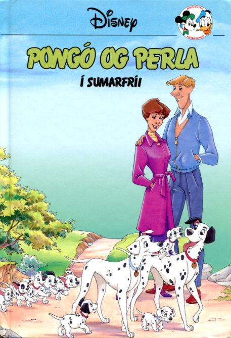 Pongó og Perla í sumarfríi. Disney ævintýri