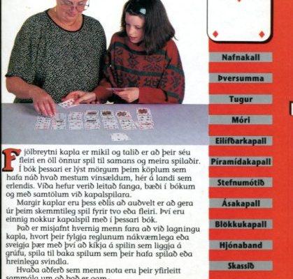 Spilakaplar AB bakhlið