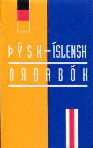 Þýsk íslensk orðabók framhlið