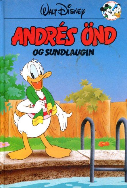 Andrés önd og sundlaugin - Disneybók