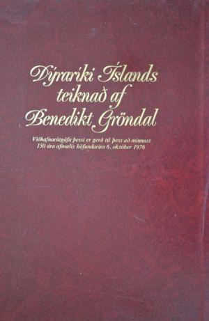 Dýraríki Íslands, teiknað af Benedikt Gröndal