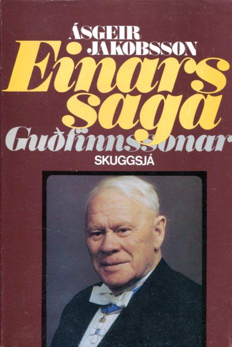 Einars saga Guðfinnssonar - Ásgeir Jakobsson