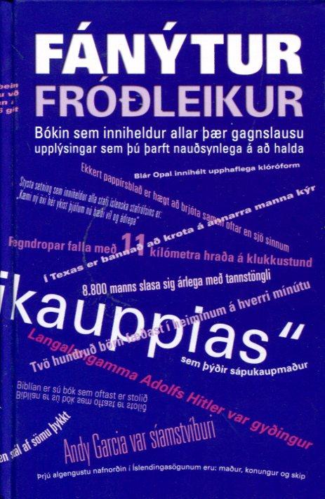 Fánýtur fróðleikur