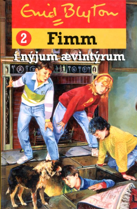 Fimm í nýjum ævintýrum - Enid Blyton