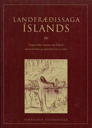 Landfræðissaga Íslands IV