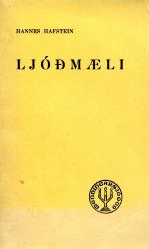 Hannes Hafsteinn, ljóðmæli, 1944