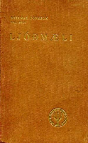 Ljóðmæli, Hjálmar Jónsson frá Bólu árið 1942