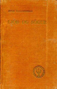 Ljóðmæli, Jónas Hallgrímsson, Ljóð og sögur 1941