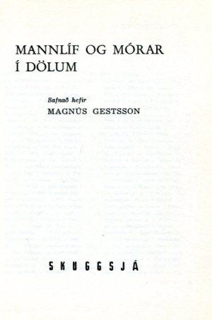 Mannlíf og mórar í Dölum - Magnús Gestsson
