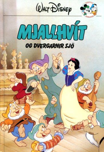 Mjallhvít og dvergarnir sjö útg 1997 - Disneybók