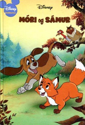Móri og Sámur / Daniel P Maninx - Walt Disney - Disnbeybók