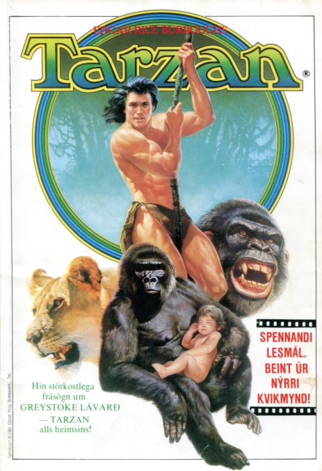 Tarzan teiknimyndasería - Edgar Rice Burroughts