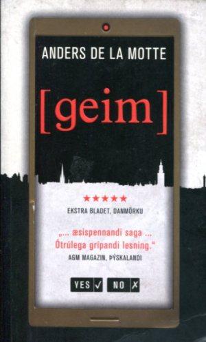 geim - Anders De La Motte - kilja