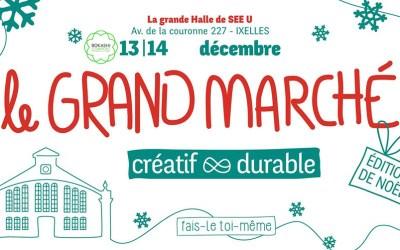 Le Grand Marché Créatif et Durable – Noël @See U