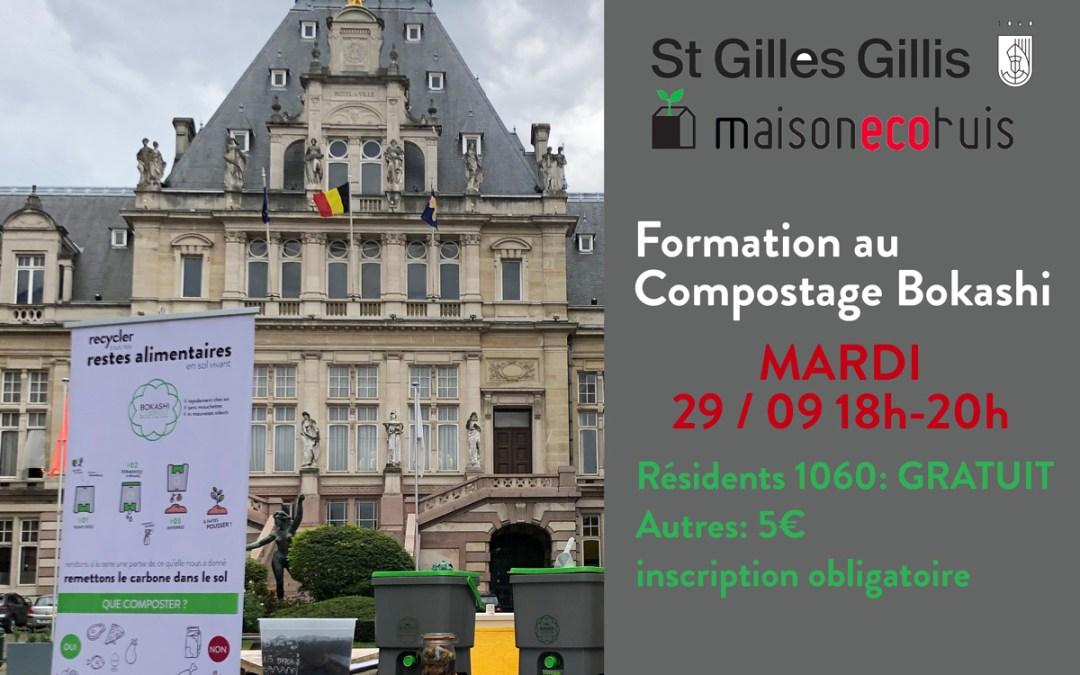 Atelier Compostage Bokashi St-Gilles