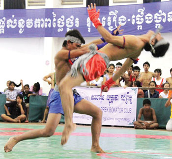 khmer traditional boxing