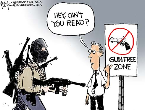 Image result for gun control cartoons