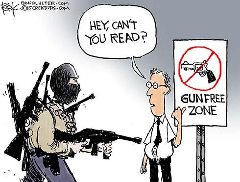 Image result for gun control cartoons