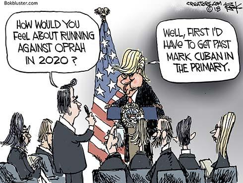 celebrity billionaire presidency
