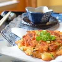 Vegetarian Pajeon (Korean Pancakes)