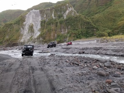Riding the lahar-filled trails of Zambales
