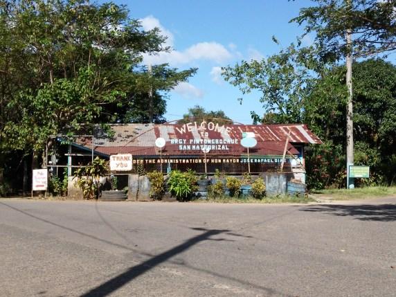 U-turn point at Brgy. Pintong Bocaue, San Mateo Rizal