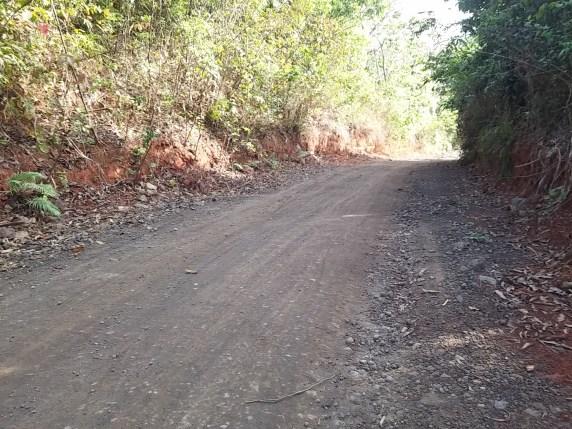 The wide Pestano Farm Trail