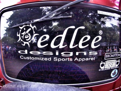 One of the sponsors, Edlee Designs