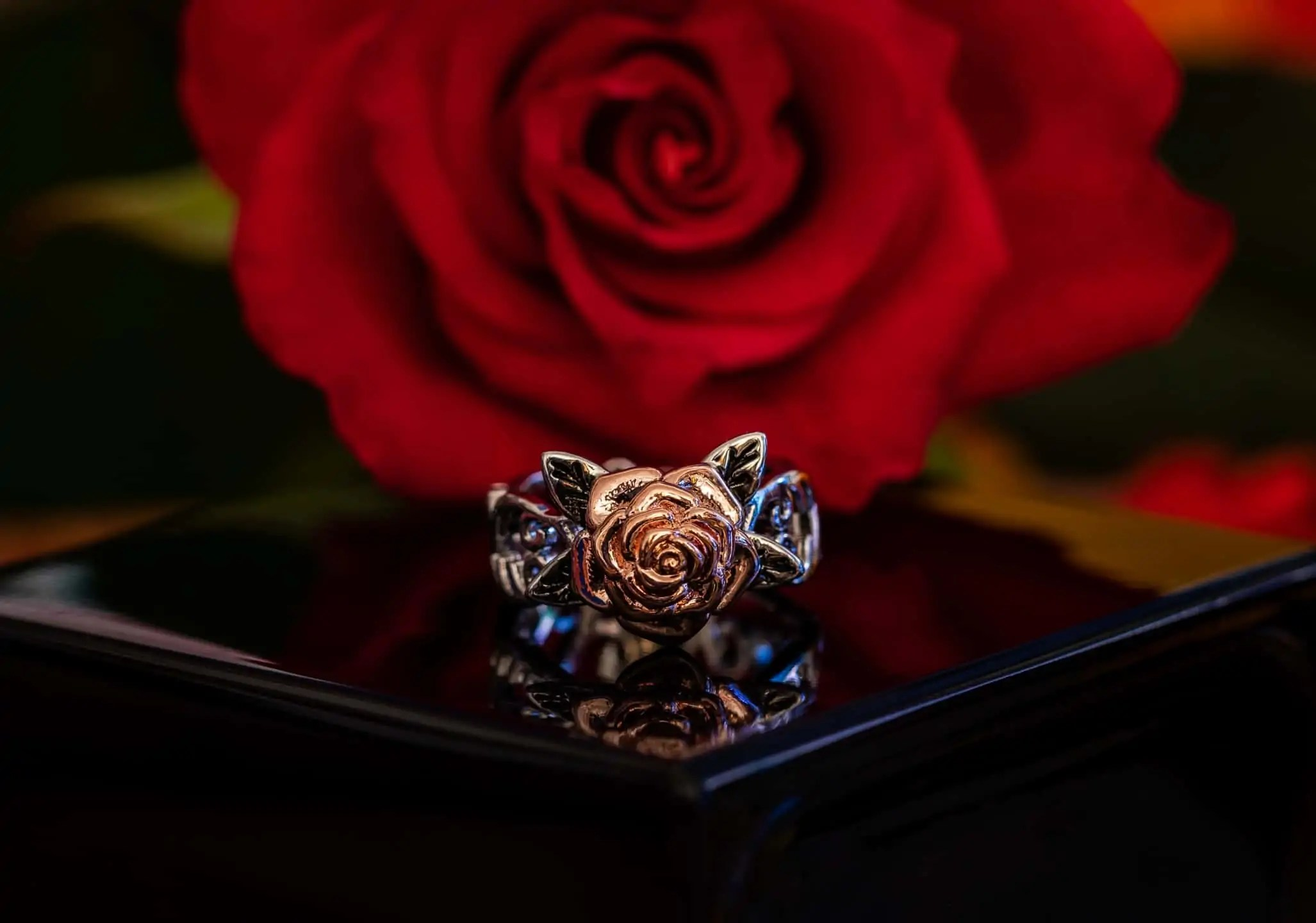 Fotografia produktowa w domu- róża