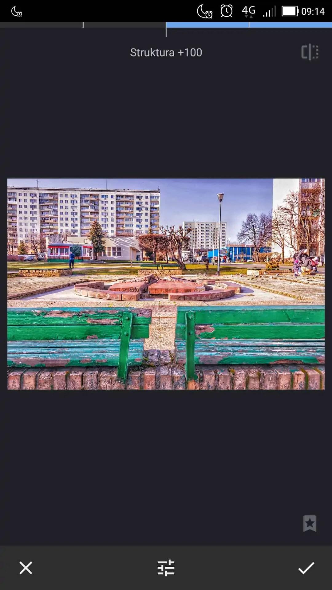 filtr struktury maksymalna wartość - Snapseed apka do zdjęć dla każdego