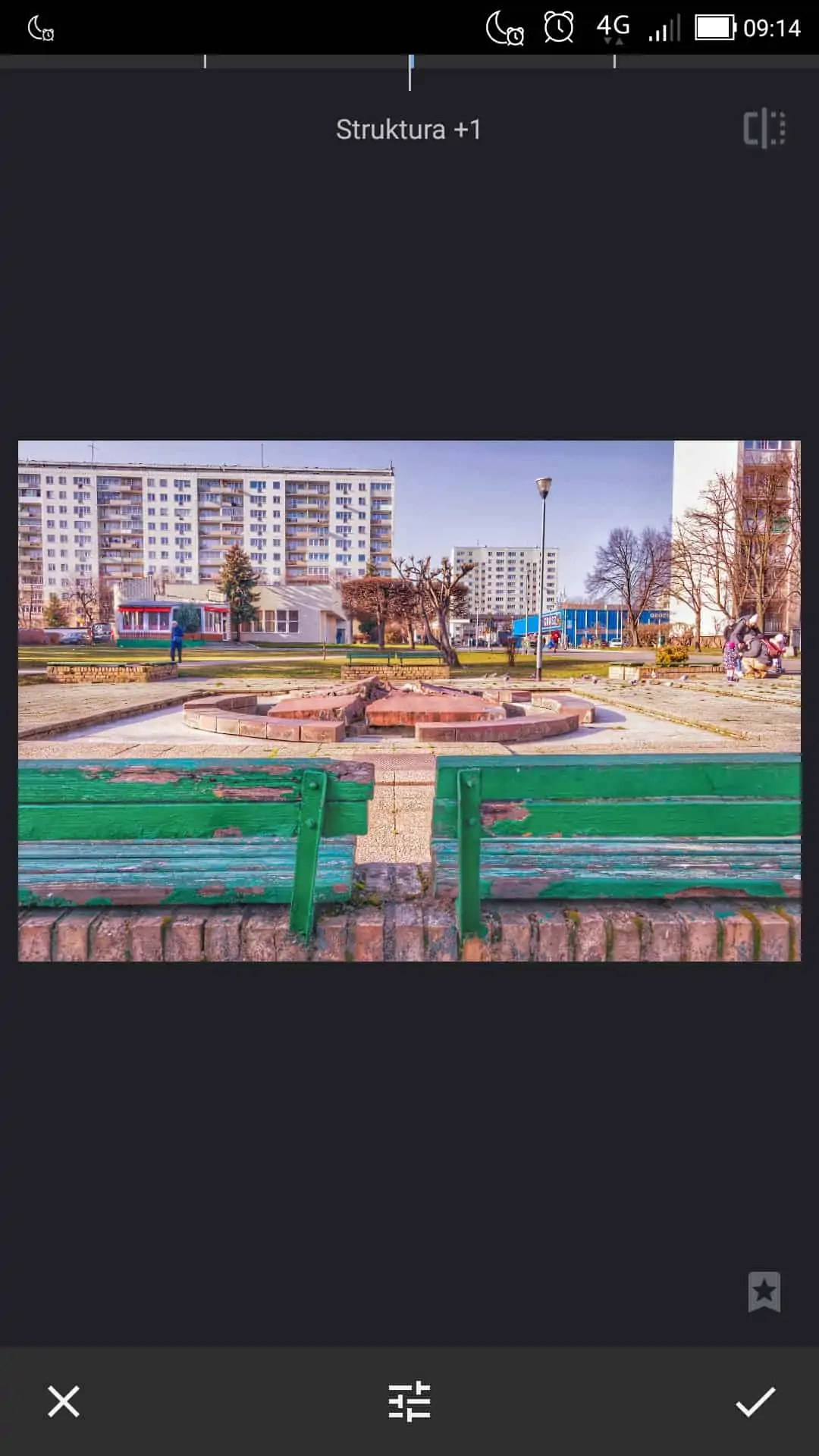 filtr struktury zdjęcie oryginalne - Snapseed apka do zdjęć dla każdego