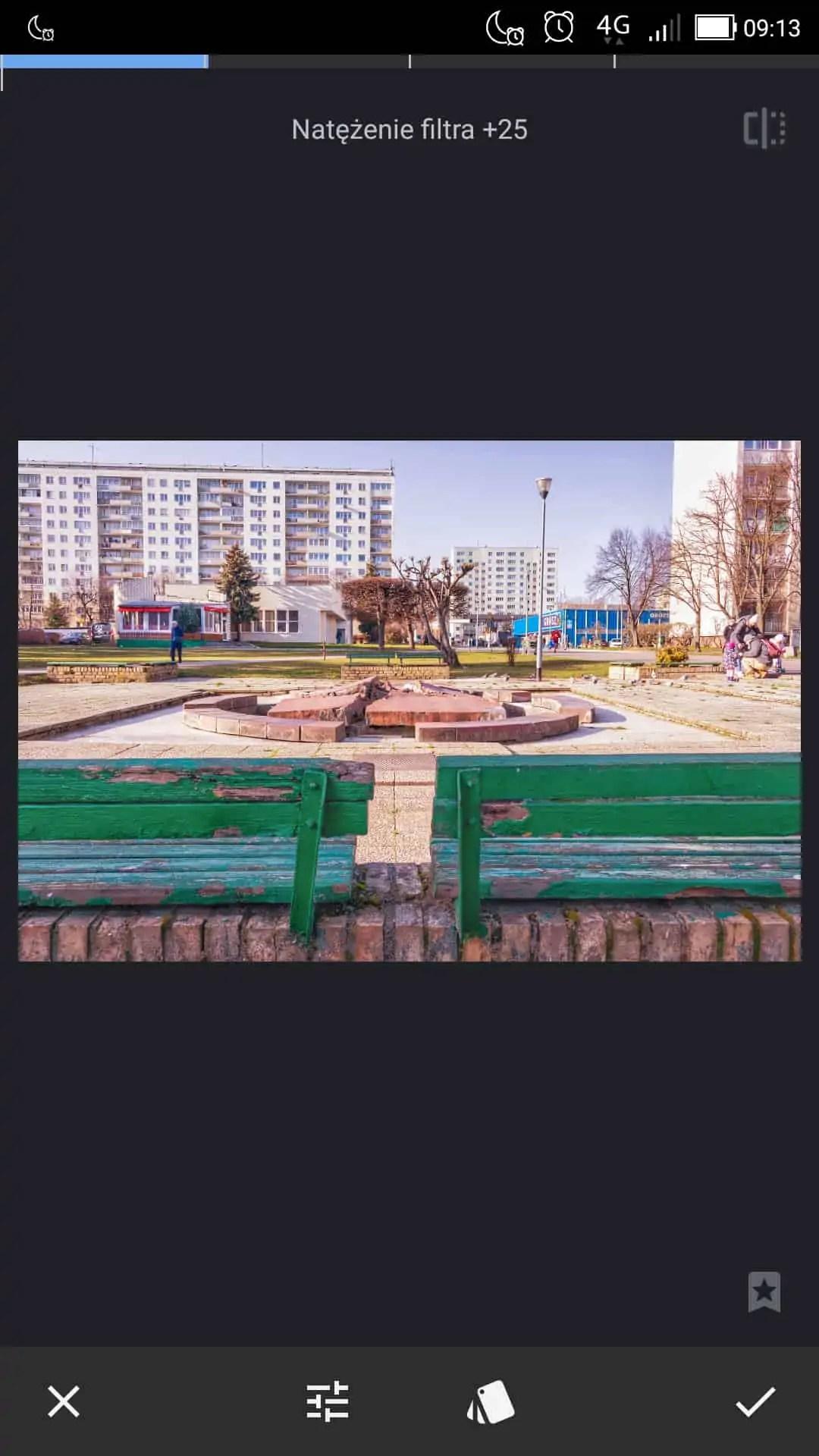 snapseed apka do zdjęć filtr HDR wartość 25 - Snapseed apka do zdjęć dla każdego