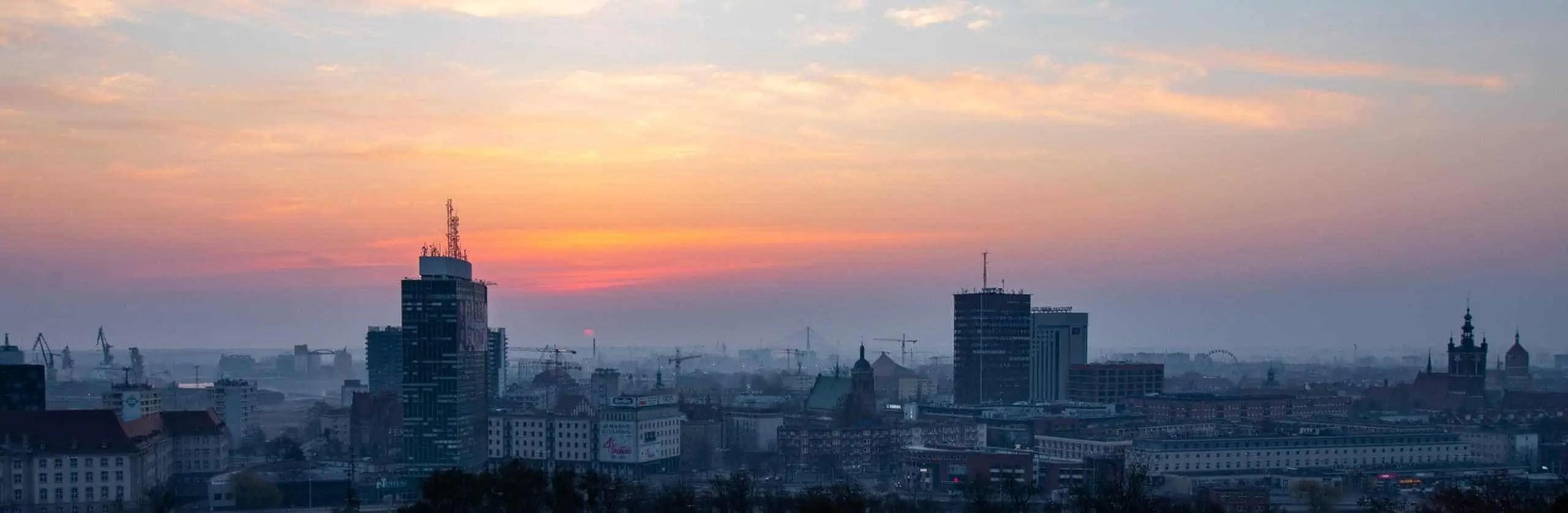 Wschód nad Gdańskiem oryginał - Pastelowe presety do lightrooma - cała wiedza i ponad 7 filtrów