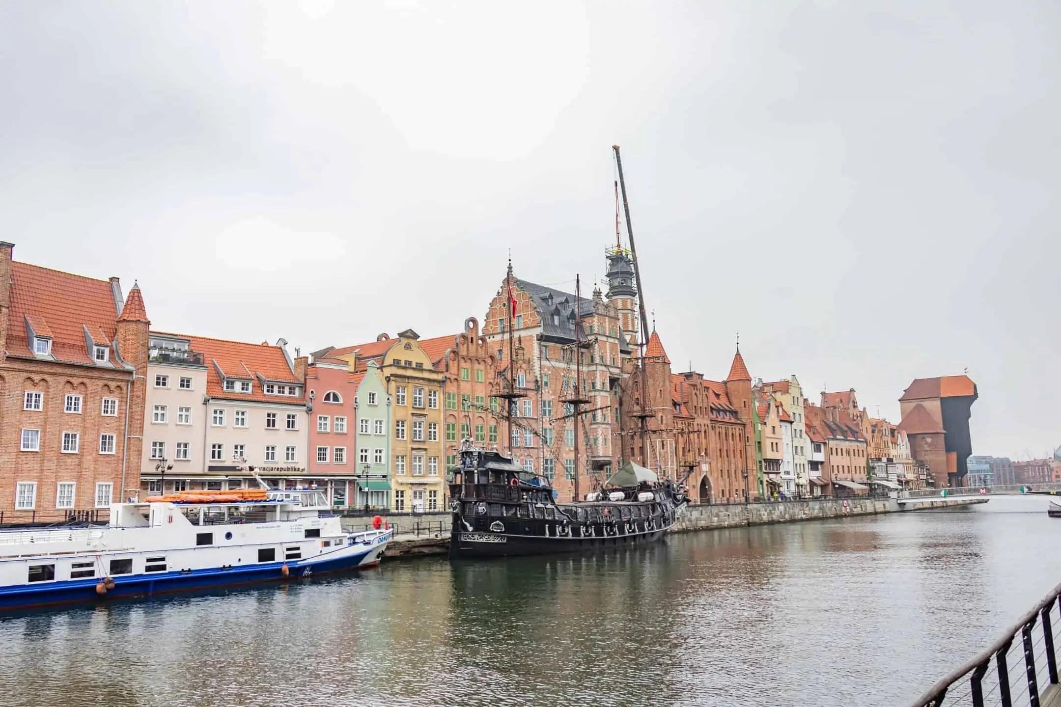 Fototeka Gdanska Motlawa nadbrzeze - Zdjęcia starego Gdańska. Kompozycja w 5 prostych krokach !