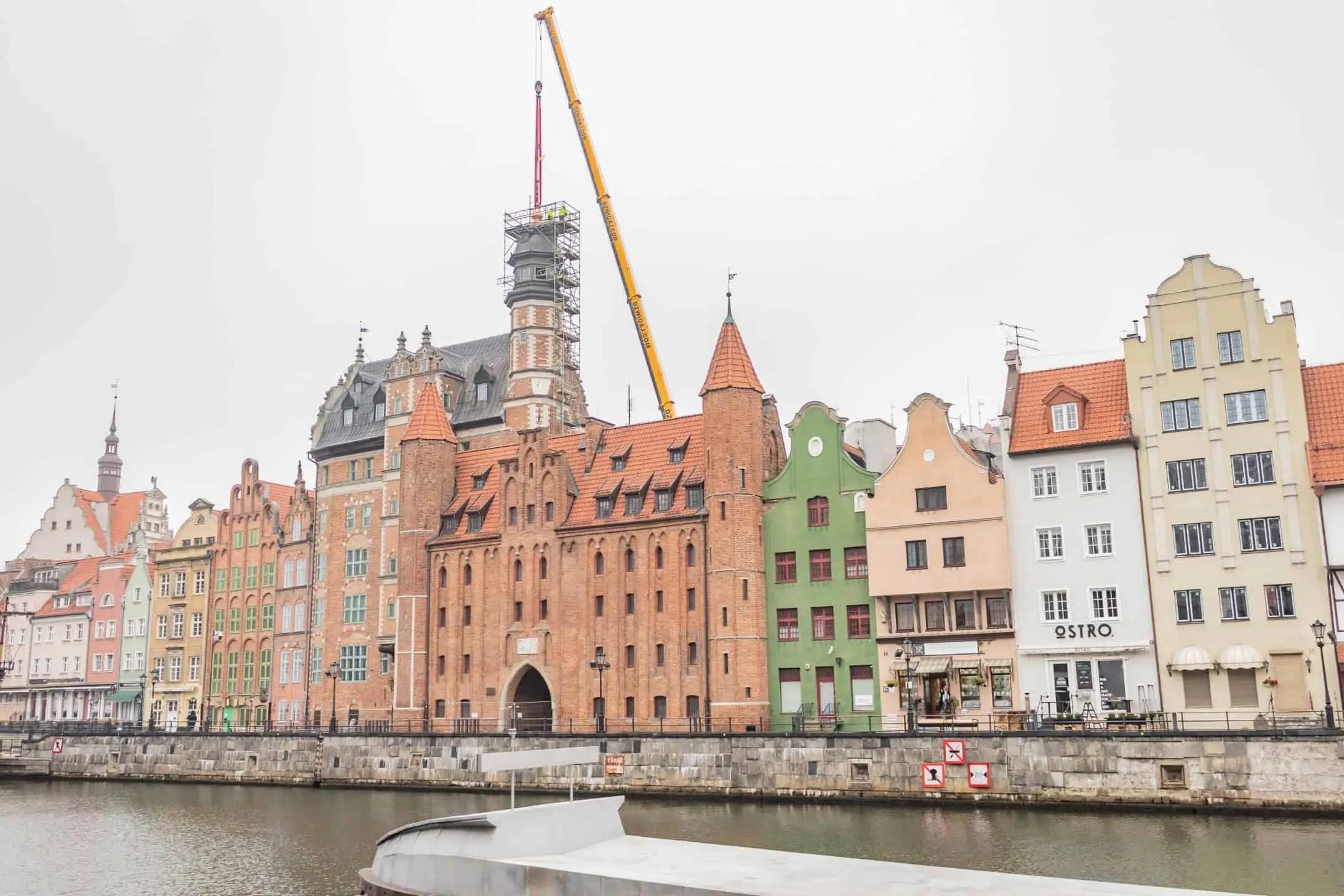 Motlawa pobrzeze - Zdjęcia starego Gdańska. Kompozycja w 5 prostych krokach !