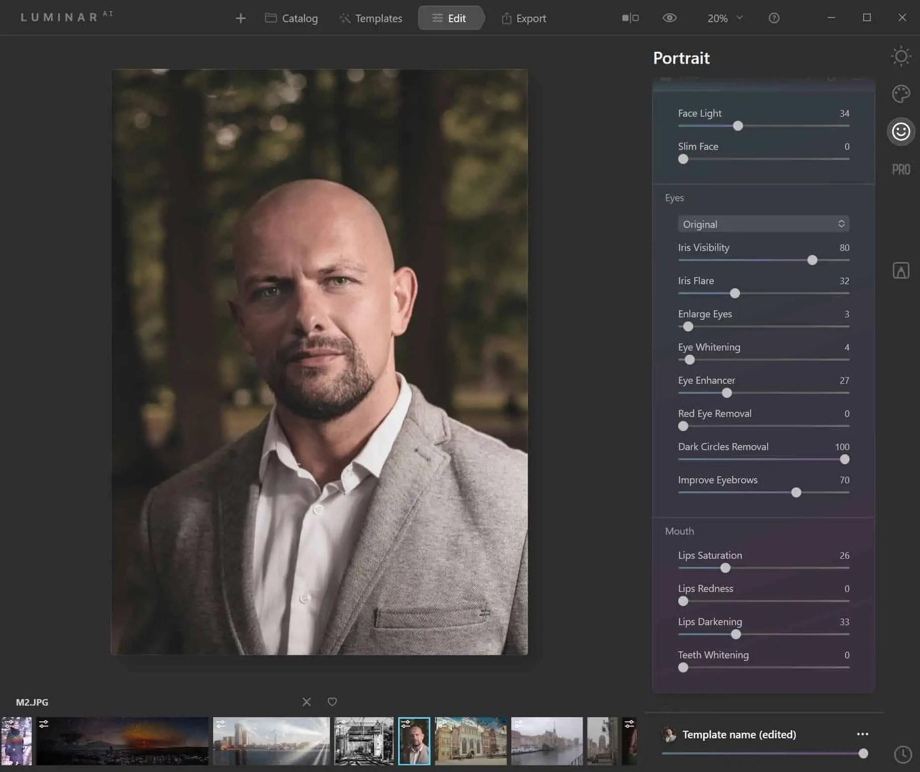 Program luminar ai retusz twarzy PO - Program Luminar AI po polsku czyli sztuczna inteligencja do zdjęc w 2020