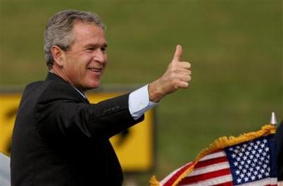 Bush_thumbs_up