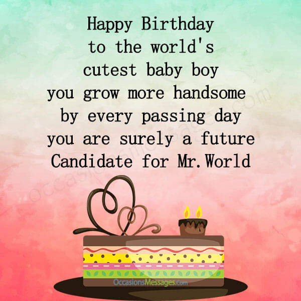 Birthday Wishes For Baby Boy 3rd Birthday Pinterest Bokkor Quotes