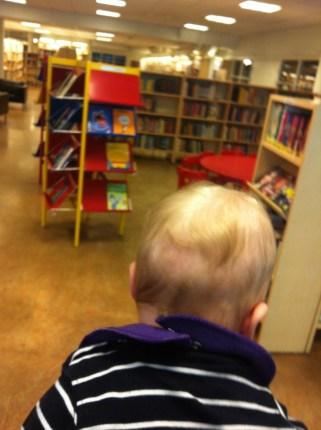 Baby på biblioteket