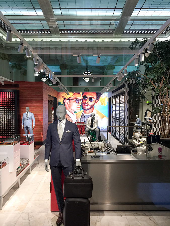 Suitsupply Retail Design Sydney Store