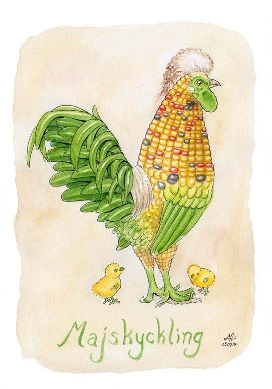 majskyckling ordvits