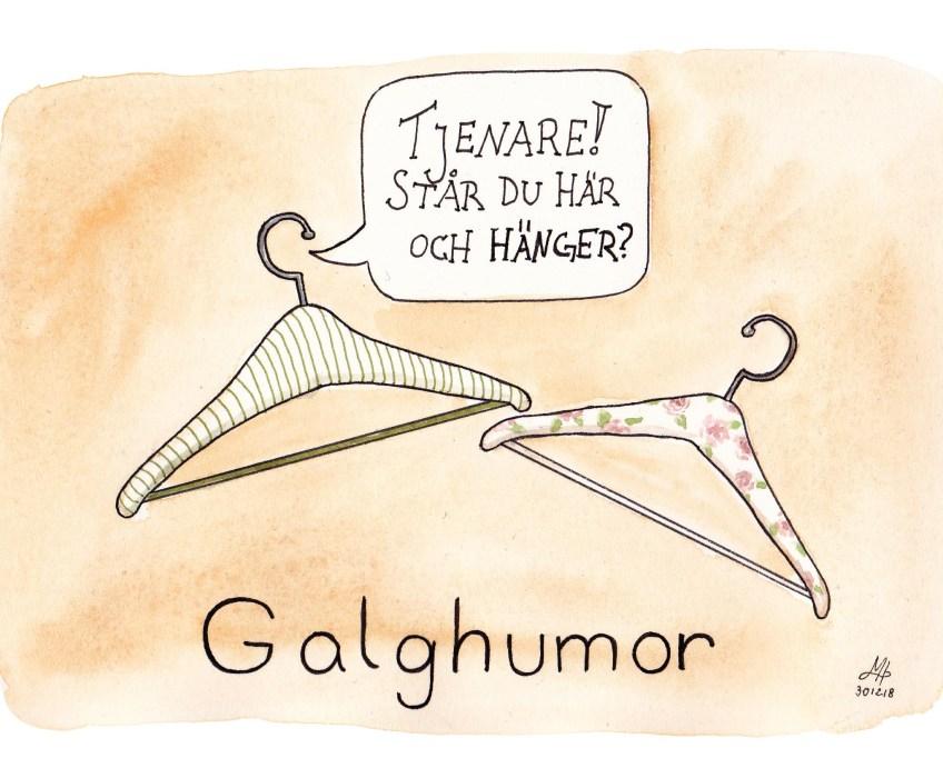 galghumor illustration ordvits