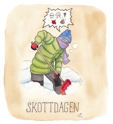 skottdagen illustration ordvits