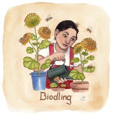 biodling illustration ordvits